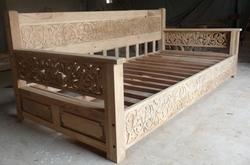 Carved Daybed