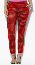 Ladies Polka Dot Pants