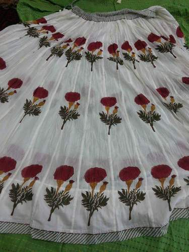 Hand Block Printing Ladies Dresses