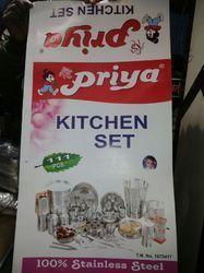 Priya 51 Pcs Stainless Steel Dinner Set