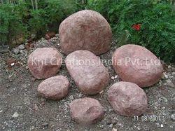 Set of Sandstone Artificial Rock