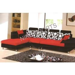 Corner Sofa Set - Fabric