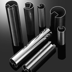 Stainless Steel Round Slot Pipe