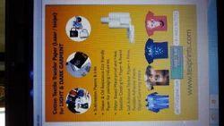 Heat Transfer T Shirt Print Paper