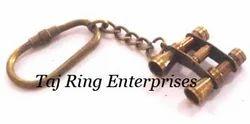Antique Binocular Key Ring