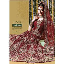 Wedding Designer Raw Silk Lehenga