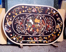 Marble Stone Inlay Table Top
