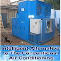 Two Stage Evaporative Cooling System-Hybrid