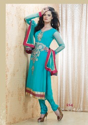 Semi Party Salwar Kameez