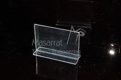 Acrylic - 2 Way Insert Acrylic Display Stand