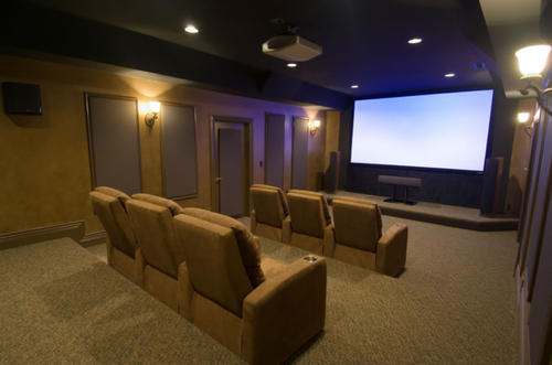 Mini Home Theaters Interior Designing