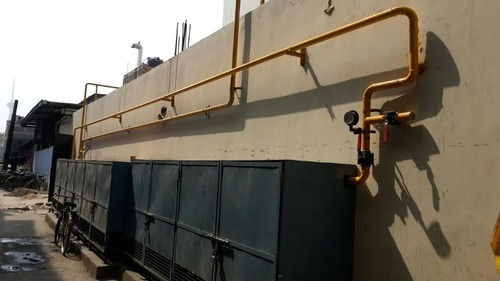 Industrial Gas Pipeline Installation