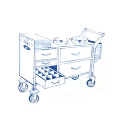 Canteen Snacks Trolley