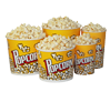 Printed Popcorn Containers