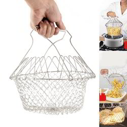 12-in-1 Magic Chef Basket Cook Boil Fry Foods Colander