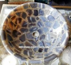 agate sink bowl