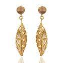 925 Sterling Silver Rose Quartz Dangle Earrings