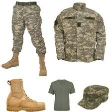 Military Gear Apparel