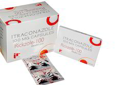 Rickzole-100 Anti Allergic Capsules