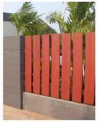 Wooden Grain Fence For Garden