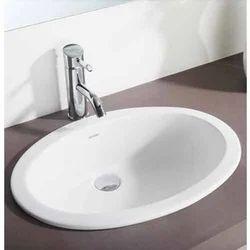 Hindware Oval Counter Top Self Rimming Basin