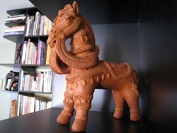 Clay Miniature Horse Toy