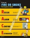 Fire Safety Educational Charts