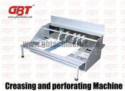 electric creasing perforating machine