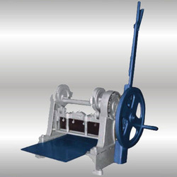 manual sample cloth cutting machine