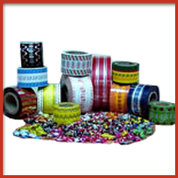 Printed Plastics Twist Wrap Packing Film