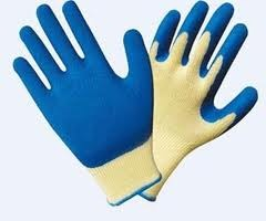 rubber latex coated gloves super grip