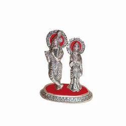 Aluminum Krishna Statue