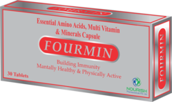 essential amino acids multi vitamin and mineral capsule