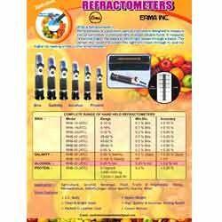 Salinity Refractometer - ERMA
