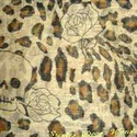 Leopard Skull Print Scarf