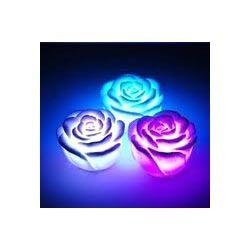 LED Rose Candle