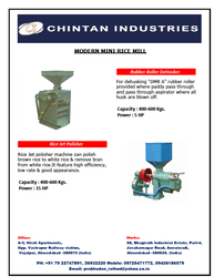 Mini Rice Mill