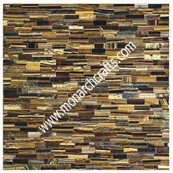 Tiger Eye Gemstone Tiles