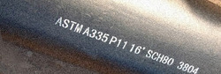 P11 Alloy Pipe ASTM A335