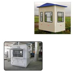 Portable Security Cabin for Industrial Use
