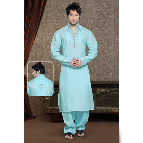 Kurta For Men With Jeans 2014 Wedding Collar Designs With