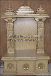 Wooden Temple Design For Home. Ask For Price