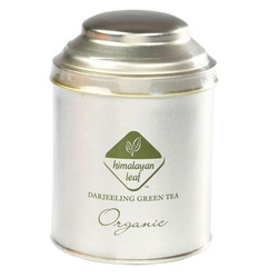 Organic Green Tea Tin