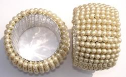 Beaded Napkin Ring NR348