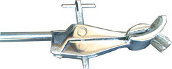 cross pattern clamp chrome plated