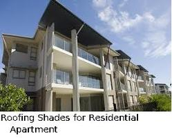 Roofing Shades for Residential Apartment