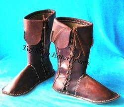 Armor Brown Leather Boot