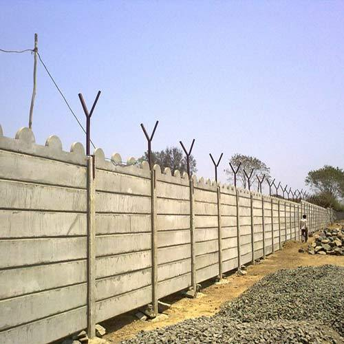 Steel Wall Compound : Compound wall industrial manufacturer from