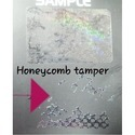 Honeycomb void Transparent  Holographic Labels