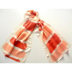 Colored Silk Scarves
